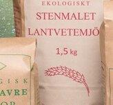Lantvetemjöl Stenmalet 1,5kg Warbro kvarn