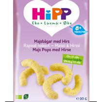 HiPP Majsbågar med hirs 30g Dagsmeja